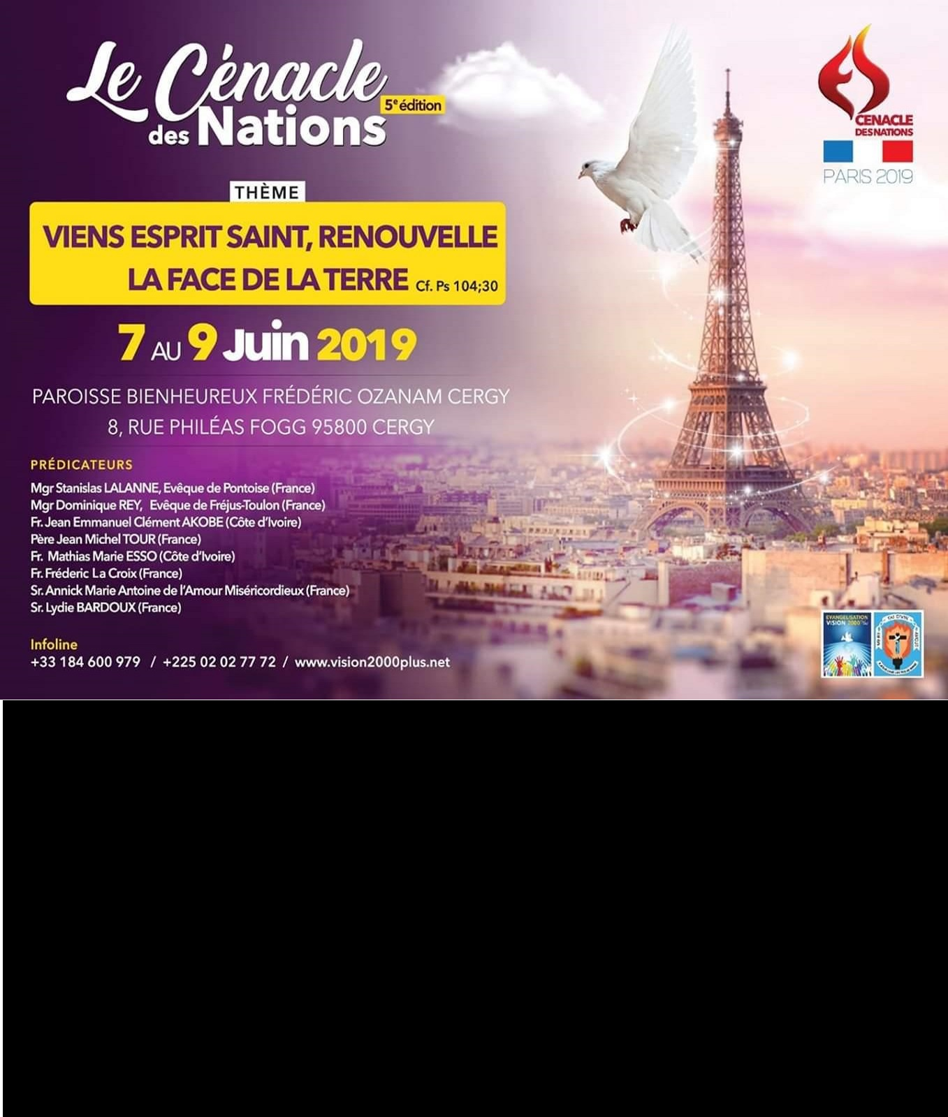 Cénacle des Nations 2019