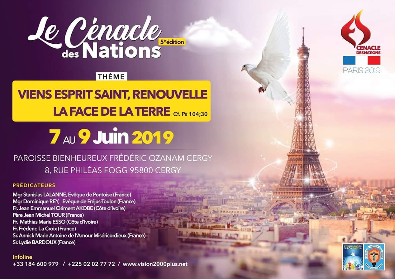Cenacle des nations 2019